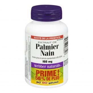 Webber Naturals Saw Palmetto Softgels Bonus Size
