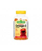 Webber Naturals Sesame Street Brilliant Omega-3 Gummies