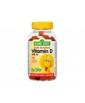 Webber Naturals Sesame Street Daily Sunshine Vitamin D3 Gummies