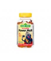 Webber Naturals Sesame Street Incredible Power Multivitamin Gummies