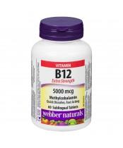 Webber Naturals Vitamin B12 60 Tablets