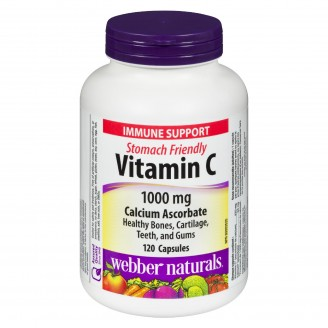 Webber Naturals Vitamin C 120 Capsules