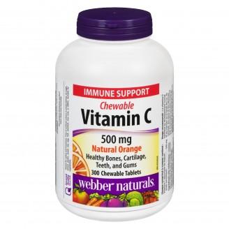 Webber Naturals Vitamin C Natural Orange