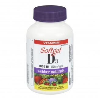 Webber Naturals Vitamin D