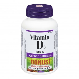 Webber Naturals Vitamin D3 Bonus Pack