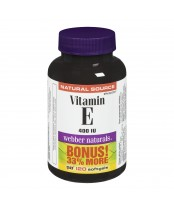 Webber Naturals Vitamin E Softgels Bonus Size