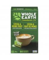 Whole Earth Stevia Leaf & Monk Fruit Packets