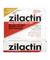 Zilactin Early Relief Cold Sore Gel