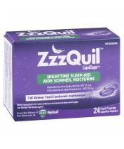 ZzzQuil LiquiCaps NightTime Sleep-Aid (24 Liquid Capsules)